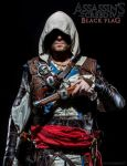 Edward Kenway promotional cover - real life by eyes1138