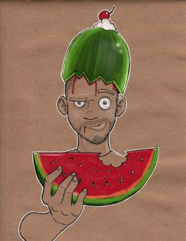 Melon Mike by xHOJUx