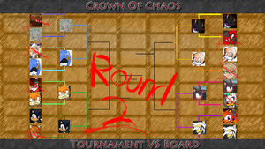 Crown of Chaos Tournament VS Board Round 2 by Mephilez