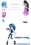 Octavia and Vinyl Scratch Fusion by PrettyCelestia