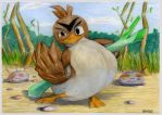 Farfetch'd training point by SSsilver-c