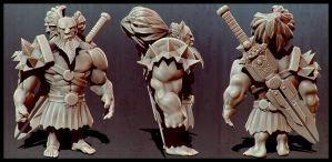 Berserker Sculpt by spybg