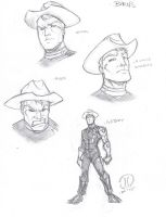 Barns sketches by JoeyVazquez