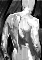 Silver Surfer quickie by JonathanWyke