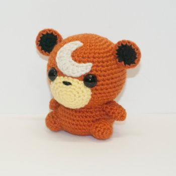 Teddiursa by Heartstringcrochet