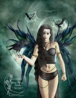 Morgan Le Fae by Gina-Marie