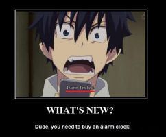 Alarm Clocks - Even Satan's son needs one. by KKBossa