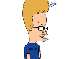 Beavis After the Eyedoctors by MadhouseHatter