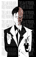 The Law is Two Face by PawFeather