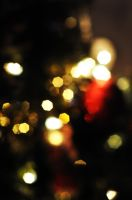 Christmas Bokeh by Gillfeesh
