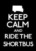 Keep Calm and Shortbus by ERRRskate151