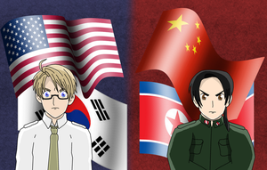Hetalia - The Iron Curtain by Siontix