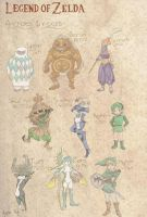 Zelda Tribes and Races by FanatikerFrau