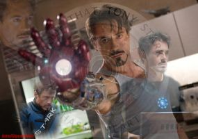 Tony Stark signature for twin by IntelligentWolf