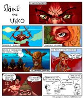 Slaine and Ukko by Woolly76