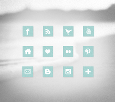 Free social icons set by TasnimEz