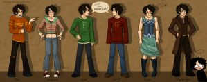 DH: The 7 Potters. by Kinky-chichi