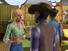 Sims 3 - Dixie Quinn by EpiclyAwesomePrussia