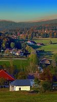 Beautiful autumn scenery by patrickjobst