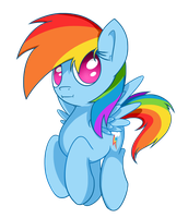 Dashie by flamevulture17