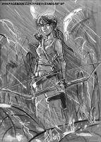 Tomb Raider by scarecrowhassan