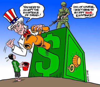 No money for Palestine by Latuff2