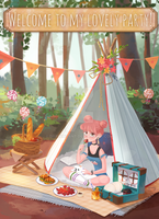 Lovely picnic by DrawingAnt
