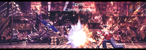 Sprite Confrontation by dxal