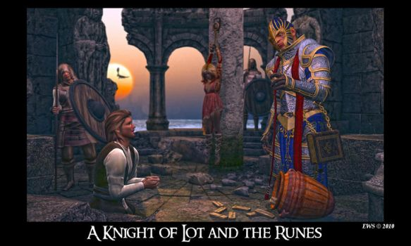 A Knight of Lot and the Runes by DBRv6