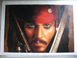 Johnny Depp - Jack Sparrow by benw99
