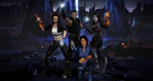 Mass Effect - Immovable Force by Seracen