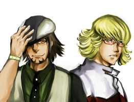 tiger and bunny by Chronogate