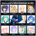 2014 Summary of Art by rainbownote