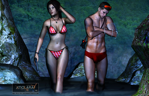 Lara and Piers. by Ygure