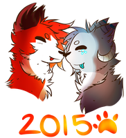 Let's Officially Begin 2015! by foxtain