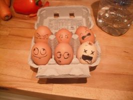 funny eggs 4 by StafidutZ