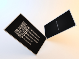 Clean Business Card Template II by Nyz87