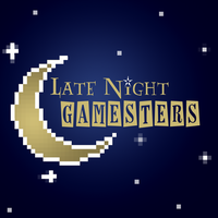 Late Night Gamersters Logo by JoseOmatic