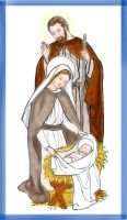 Holy Family by Peekeeboo