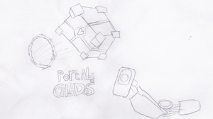 Portals To Glados by narwhalhero2