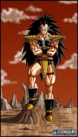Raditz by DBZwarrior