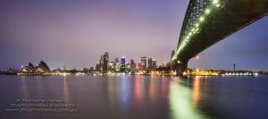 Sydney at Dawn by FireflyPhotosAust