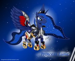 Armored Luna by D-SixZey