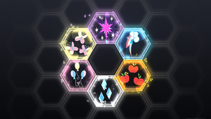 Friendship is Hexagons by Mithandir730