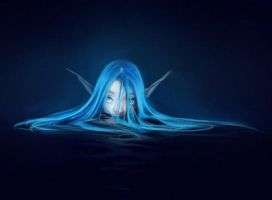 Timid Little Water Spirit by Liol