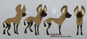 AWD Character Sheet by Hymnsie