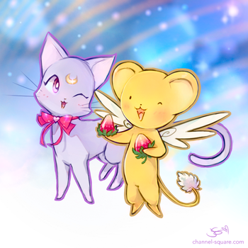 Diana and Kerochan by Channel-Square
