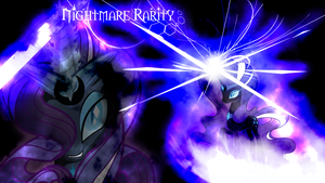 Nightmare Rarity Wallpaper 1920x1080 by Arakareeis