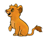 Simba Doodle by RunningSpud