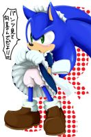 maid sonic 2 by shoppaaaa